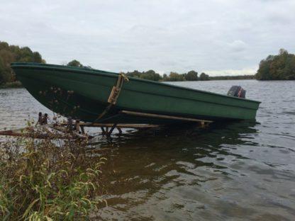 "Корпус лодки ""Волга-6,5""."