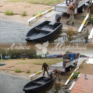 Модель лодки с рабочим названием «Ласточка»